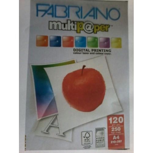 کاغذکالرکپی 120گرمA3 فابریانوFabriano